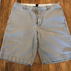 Men's Gray J Crew Shorts